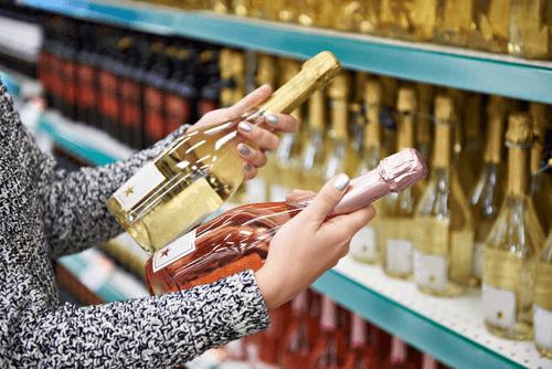 ワインを持っていくイメージ画像