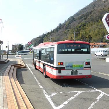 [写真]一畑バス停留所