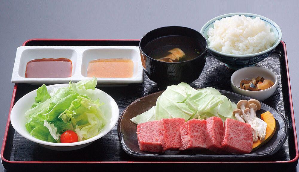 [写真]島根和牛ロース定食