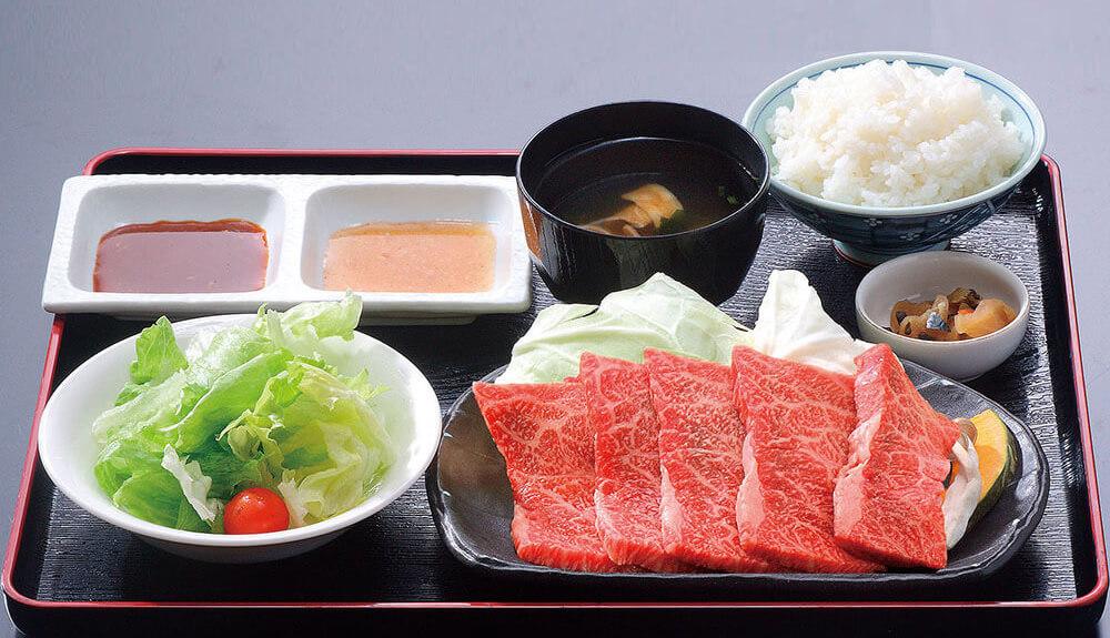 [写真]島根和牛定食