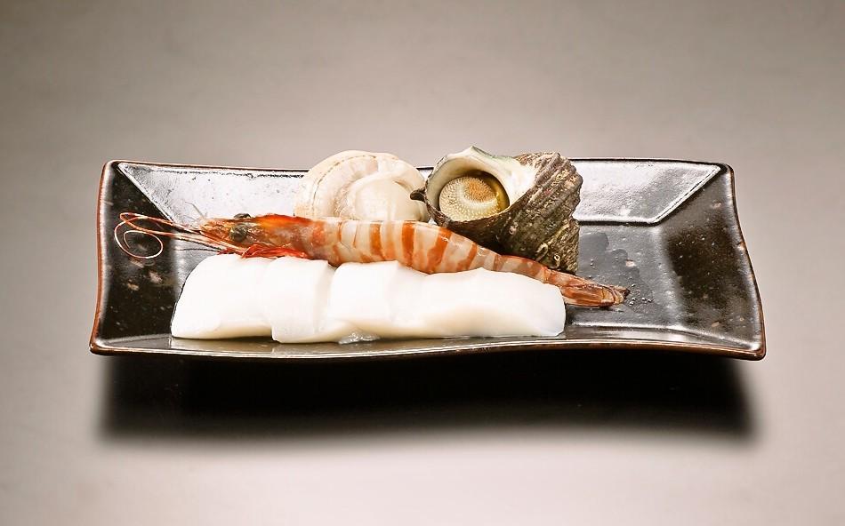 [写真]魚介セット