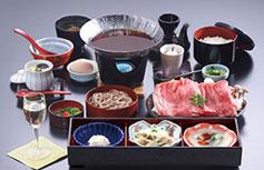 [写真]島根和牛すき焼き御膳