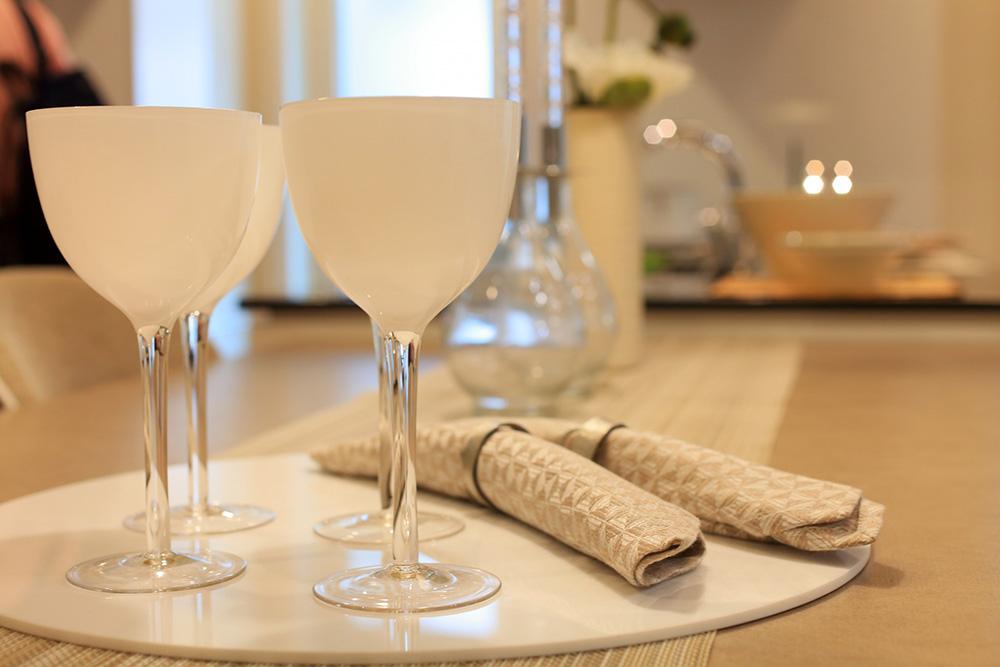 コンビニワインを楽しみインテリア